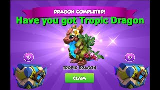 Have you got Tropic Dragon-Dragon Mania legends | Origin of Water Ancient Event | DML