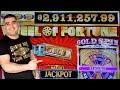 I Got A GOLD SPIN On Wheel Fortune Slot   Monopoly Slot Bonuses Won   SE-1   EP-22