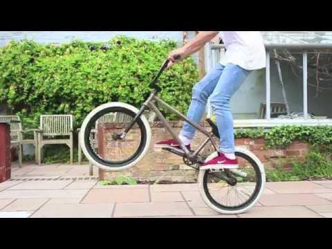 Slow Motion Bunny Hop BMX