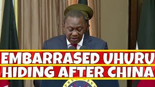 Embarrassed Uhuru Kenyatta is still hiding after the China trip - The Inside Story