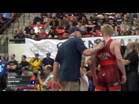 86 Semis - Bo Nickal (Nittany Lion WC) vs. Richard Perry (NYAC)