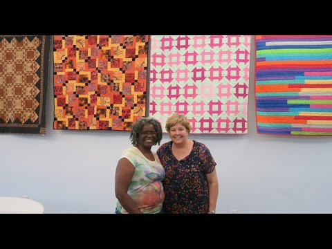VLOG Missouri Star Quilt Co Shops Day 1 and Lecture Excerpts