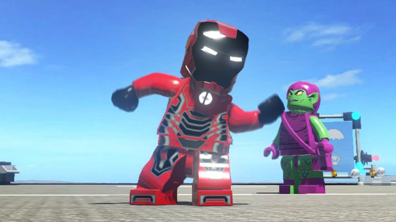 lego marvel superheroes iron man black amp red iron pool