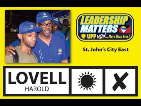 Vote Harold Lovell