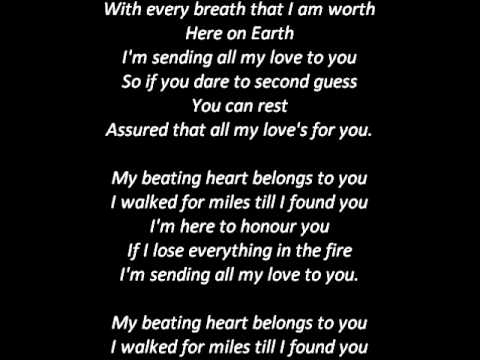 Last Night On Earth - Green Day [Lyrics]