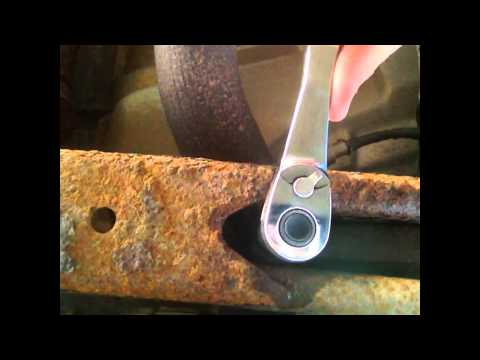 how to adjust ride level with torsion bars.
