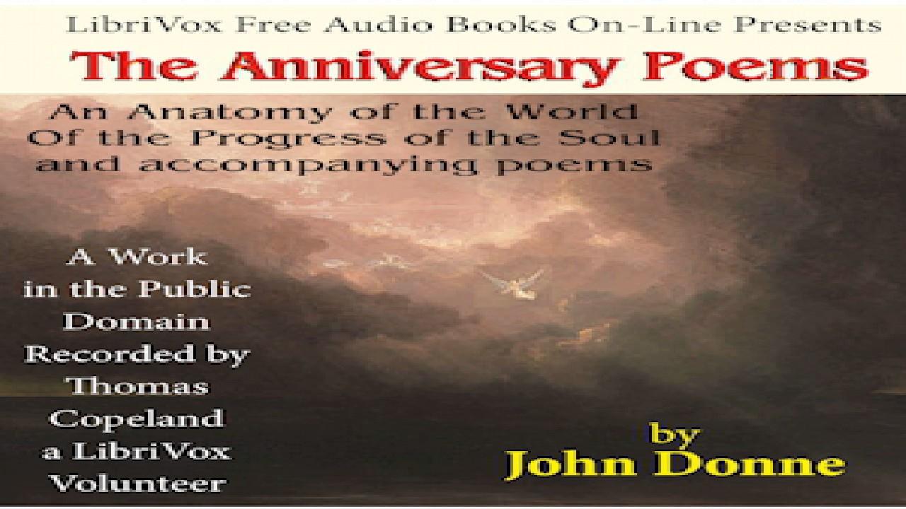 Anniversary Poems   John Donne   Elegies & Odes   Talkingbook ...