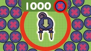 Moomoo.io - Thou Shalt Not Build - 1000+ Blockers in Experimental