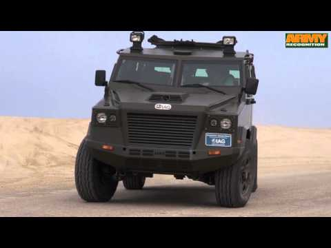 IAG International Armored Group factory Ras Al Khaimah UAE Jaws Guardian APC test drive