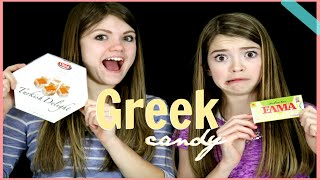 Americans Try Greek Candy!