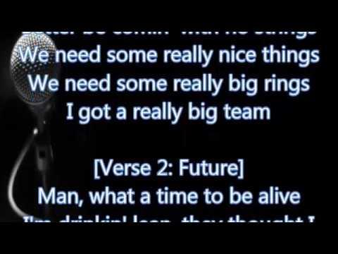 Drake & Future - Big Rings (Lyrics)