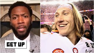 Trevor Lawrence will be an excellent NFL QB, but he struggled last season - Ryan Clark | Get Up