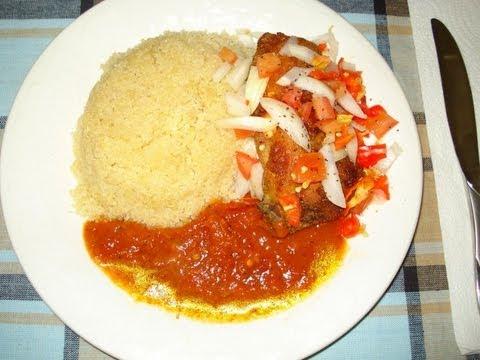 Recette de cuisine l 39 attieke au poulet grille how to for Accompagnement cuisine