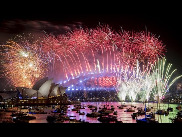 World welcomes New Year 2019 with fireworks and celebrations