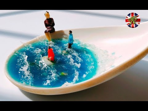 #DIY. Water Waves From Resin