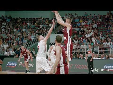 Kristaps Porzingis / Latvia - Poland / EuroBasket 2017