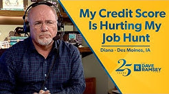 My Credit Score Is Hurting My Job Hunt
