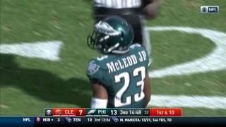 RGIII Fires 58-Yard Bomb to Corey Coleman! | Browns vs. Eagles | NFL