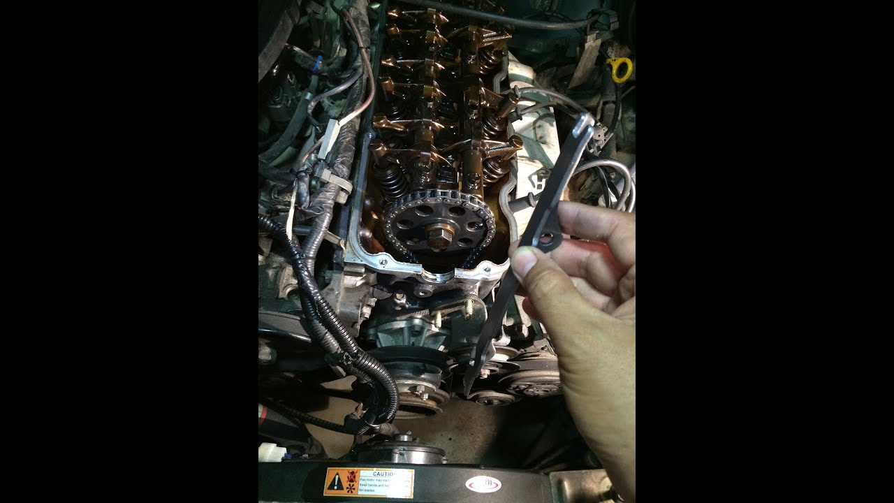 1997 nissan hardbody timing chain rattle repair
