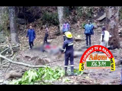 19 students died at Kintampo Waterfalls