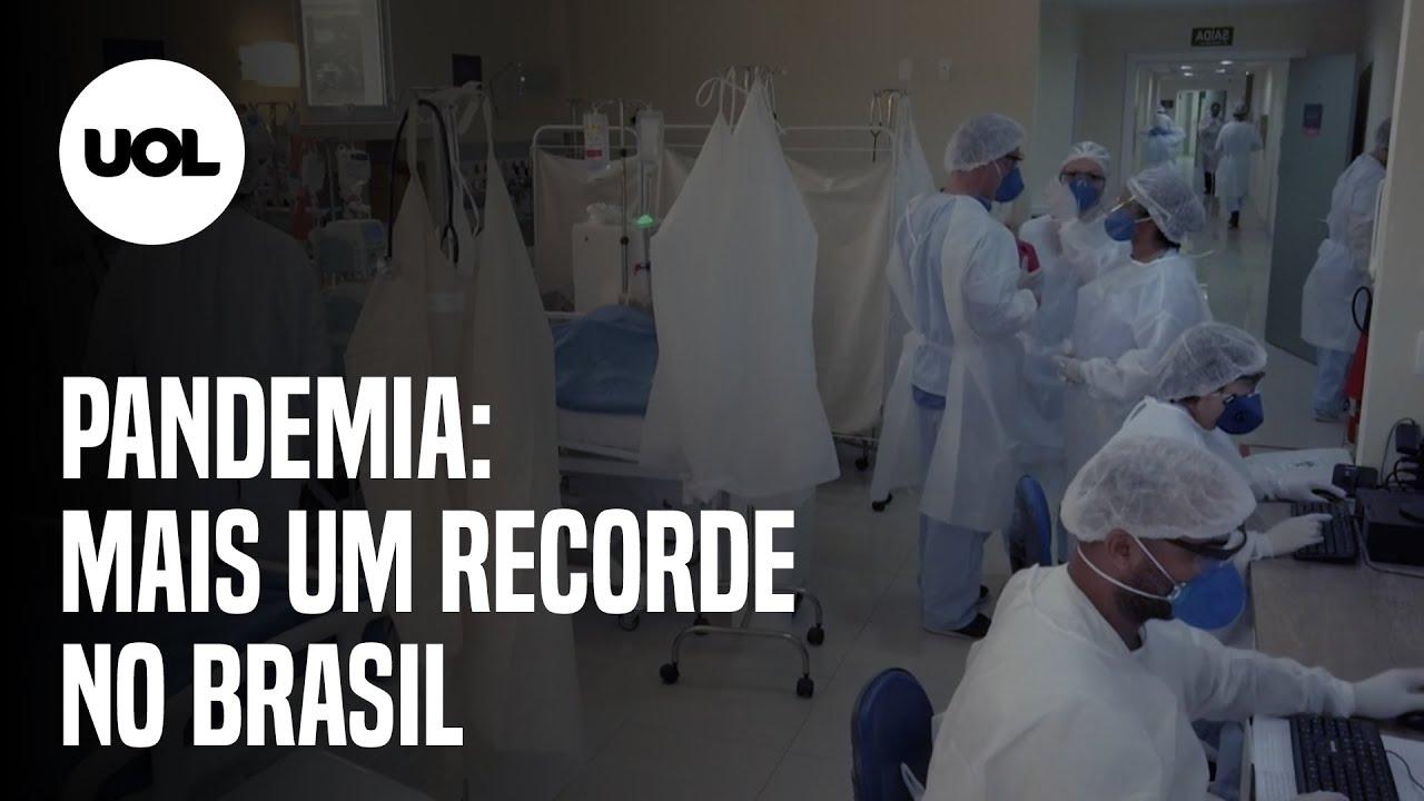 Covid-19: Brasil ultrapassa marca de 7,5 milhões de casos de contaminação