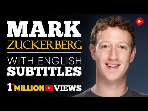 LEARN ENGLISH | MARK ZUCKERBERG: Find Your Purpose (English Subtitles)