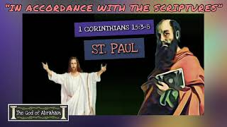 BIBLE VERSE - Early Christian Creed - 1 Corinthians 15:3-8