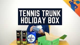 Tennis Trunk Holiday 2016 Subscription Box!
