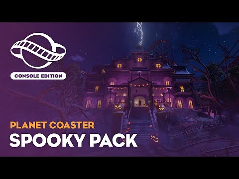 Для Planet Coaster на Xbox теперь доступны наборы Spooky и Adventure