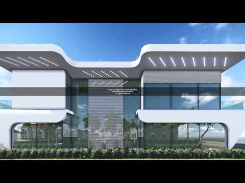 Developing Real Estate, Futuristic Dubai Villa by Andriy Holubets.