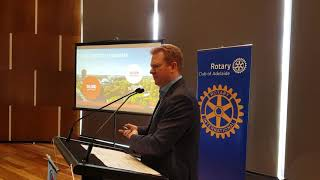 Sean Keenihan - Chair, SA Tourism Commission Tourism in SA/Potential of China