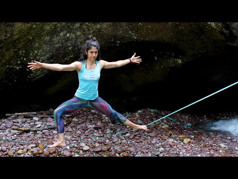 Slackline-Yoga Tutorial by Andrea Dattoli: The Warrior Pose