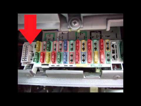 hqdefault vauxhall corsa b diagnostic obd2 port location video youtube 2000 camaro fuse box diagram at mifinder.co