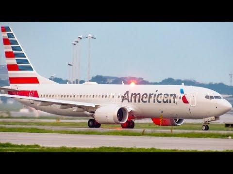 American Boeing 737 MAX 8 (B38M) Departing Montreal (YUL/CYUL)