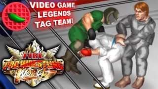 VIDEO GAME LEGENDS TAG TEAM! -- Let