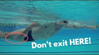Where To Exit Your Hand In Freestyle