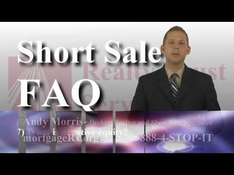 Ohio Short Sale FAQ 07- What is negative equity?