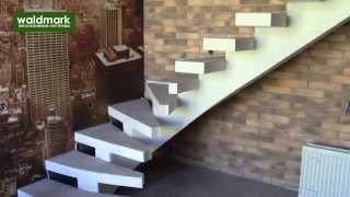 Монолитные лестницы на центральном косоуре(, 2013-10-24T09:36:01.000Z)