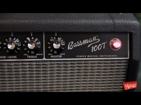 "Fender Bassman 100T Head & 15"" Cab"