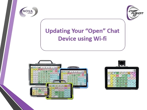 Updating Your Chat Software Using Wi-Fi