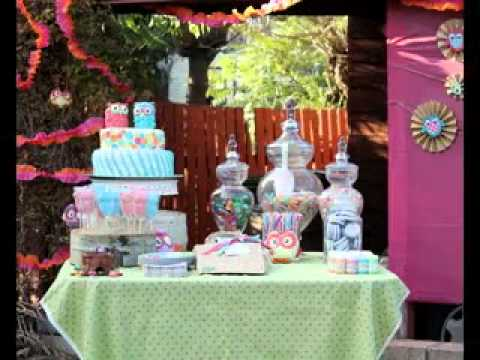 Simple Diy Birthday Party Table Decoration Ideas Youtube