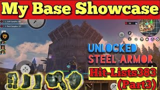 How to Unlock Steel armor Recipe &amp My Base showcase  Last Island Of Survival Hit-Lists(Part 3)