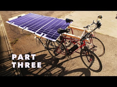 "The Pedal-Powered Motorhome - Part 3 - ""The Solar Panels"""