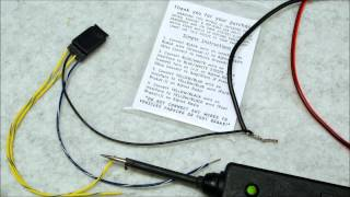 Alpine ebrake foot brake bypass relay how to