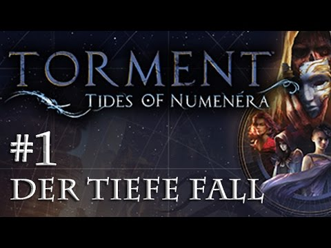 Let's Play Torment: Tides of Numenera #1 – Der tiefe Fall (Blind / Deutsch / Roleplay)