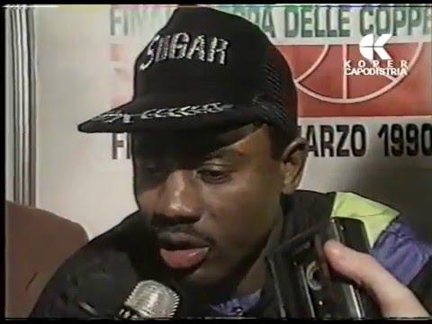 Coppa delle Coppe 1990 - Sugar Ray Richardson