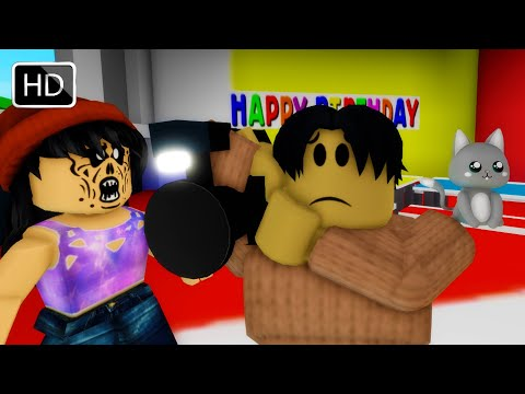 Roblox BrookHaven RP The Cursed Birthday Girl (Scary Full Movie)