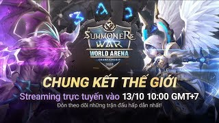 [VN] SWC2018 World Finals @Seoul |Summoners War |서머너즈워