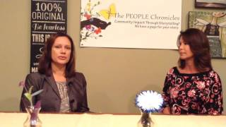 Dr. Tammy Balatgek talks with Gina Powell