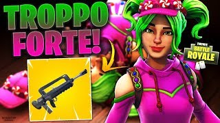 THE NEW LEGENDARY ARMA IS ASSURDA! REAL VITTORY WITH THE FAMAS - FORTNITE BATTLE ROYALE